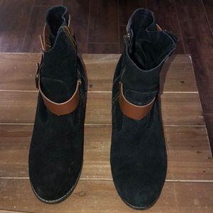 Boots/ leather velvet/ Dolce Vita